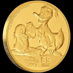 2019 $250  Donald Duck 85th Anniversary 1oz Gold Coin Proof