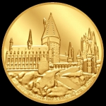 Niue Islands 250 $ - 1 Oz Gold Harry Potter Hogwarts...