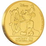 Niue Islands 250 $ - 1 Oz Gold Mickey Mouse?  90....