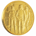 Niue Islands 250 $ - 1 Oz Gold Stormtrooper? Star Wars?...