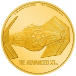 Niue Islands 250 $ - 1 Oz Gold TIE Advanced x1 - Star...