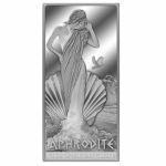 Niue Islands $5  Gods of Ancient Greece - Aphrodite 2 oz...