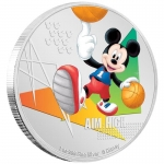 Niue Islands Aim High Basketball Mickey Mouse Disney 1 Oz...