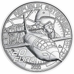 20 Euro Austria 2020 The dream of flying - Faster than...