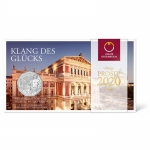 Austria 5 Euro New Years Coin 150th Anniversary of Music...