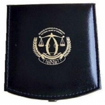 Original Rwanda black Leatherbox for Rwanda Nautical Ounce / African Ounce Wildlife