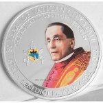 2009 Palau 80 Years of Vatican City - Pope Benedict XVI...