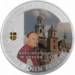 Palau 2010 1 $ Pope Johannes Paul II - Auxiliary Bishop...