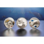 2017 Palau 2 x 10 $ Silver Marine Life Protection Set...