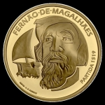 Portugal  7,5 Euro Gold 500th Anniversary Of Magellan...