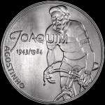 Portugal  7,5 Euro Silver Joaquim Agostinho Hero of...