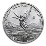 1/10 Oz Silver Mexico Libertad 1/10 Oz 2015 Brilliant...