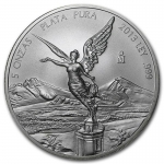 5 Oz Silver Mexico Libertad 5 Oz 2013 Brilliant Uncirculated