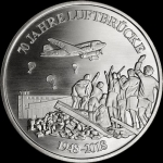 Silver Berlin Mint 70 years Berlin Airlift 2018