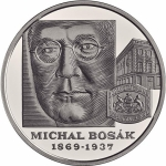 Slowakei 10 Euro 150. Geburtstag Michal Bosak 2019 Proof