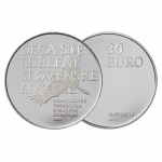 Slovenia 30 Euro Silver 100 Years Return of Prekmurje 2019 Proof