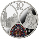 Spain 10 Euro Silver 2020 Gothik Europe Star 2020 Proof