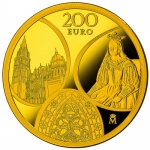 Spain 200 Euro Gold 2020 Gothic Europe Star 2020 Proof
