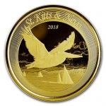 2018 St. Kitts and Nevis 1 oz Gold Pelican (1)