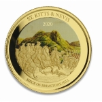 2019 St. Kitts and Nevis 1 oz Gold Pelican (2) 2019...