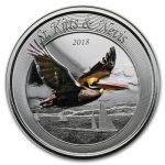 2018 St. Kitts and Nevis 1 oz Silver Pelican (1)  Proof...