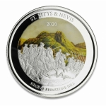 St. Kitts & Nevis, 2 Dollar, Brimstone Hill (3), 2020...