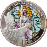 Togo 2014 100 Francs Heiligsprechung Papst Johnnes Paul...