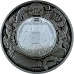 Tuvalu 2021 $2 Tears of the Moon  2oz Antique Silver Proof