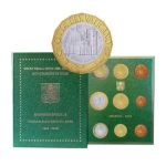 Coinset 2018 of Pope Francis BU incl. 5 Euro