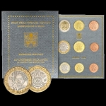 Coinset 2020 of Pope Francis BU incl. 5 Euro Beethoven