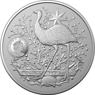 2021 $1 Coat of Arms 2021 1oz Silver - RAM