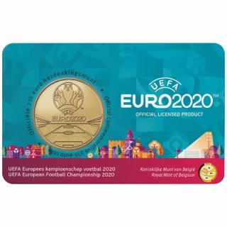 Belgium 2,5 Euro 75 Anniversary Freedom End of WWWII 2020 Dutch Version