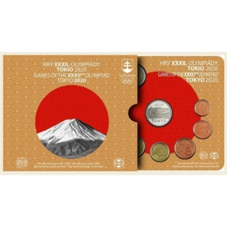 Coinset Olympic Games in Tokyo 2020 BU