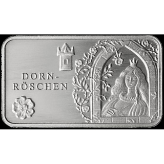 Fairy tales - Silver Bars Sleeping Beauty 999,99 Mint Berlin