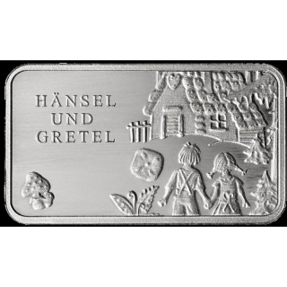 Fairy tales - Silver Bars Hansel and Gretel 999,99 Mint Berlin