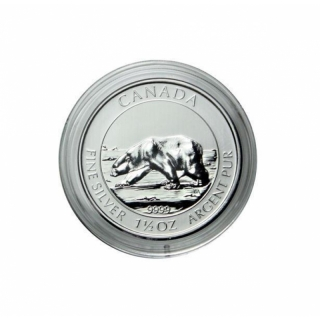 Capsule for 1,5 Oz Silver Multi Maple Superleaf 38,4 mm