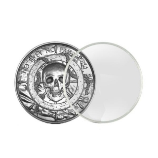 Münzkapsel 2 Oz Ultra High Relief Privateer / Siren / American Landmark