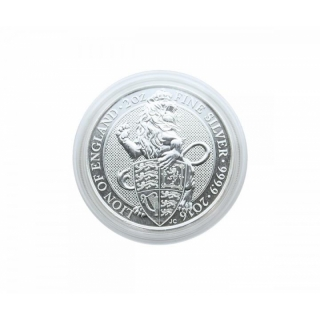 Capsule for Silver Queens Beast, 2 Oz Silver Niue Turtle, 2 Oz Bounty 39,0 mm Inside Height 6mm
