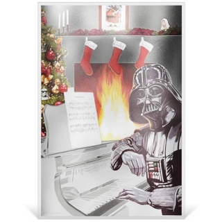 Star Wars: Season?s Greetings 2018  5g Silver Coin Note