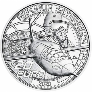 20 Euro Austria 2020 The dream of flying - Faster than the Sounds